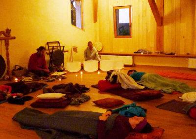 Relaxation sonore proposés à Manaska pour une détente profonde