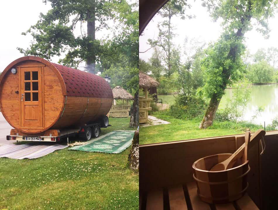 Sauna mobile à Manaska pour vos stagiaires en haute-garonne