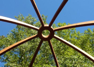 Le dome de la yourte
